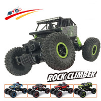 Wholesale RC Car G CH WD Rock Crawlers x4 Driving Car Double Motors Drive Bigfoot Car Remote Control Car Model Off Road Vehicle Toy