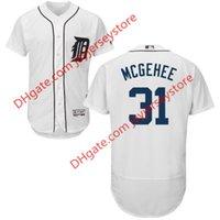 baseball casey - 31 Casey McGehee Jersey MLB Baseball Detroit Tigers Jerseys Flexbase Red Black Grey White size XL XL