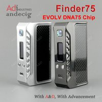 baby thinking - Authentic Evolv DNA75 Chip Think Vape Finder75 Box mod FOR limitless plus rdta xl tfv8 baby tank