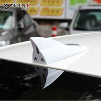 amber alarm - Universal Anti collision Light Car Auto Flash Warning Alarm Tail Light Shark Fin Style Antenna Tail Warning LED Light