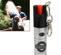 Wholesale Key chain PEPPER SPRAY SELF DEFENSE ML Self defense equipment Women s anti wolf equipment