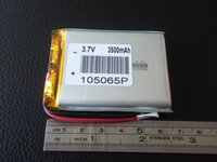 Wholesale 3 V lithium polymer battery mAh P MM mobile power Locator
