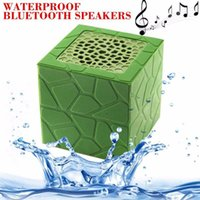 Wholesale Waterproof Wireless Bluetooth Speaker Portable Mini Music Sound Box Hands free Audio Boombox with Strap for phones