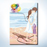 Wholesale Petty Girl DIY Painting Baby Toys Artistical x30cm Coloring Canvas Oil Painting Kids Drawing Toys Set for Home Decoration