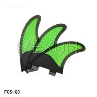 Wholesale New Design hotsales homb fiber glass FCS G3 fins set S size for surfing fins