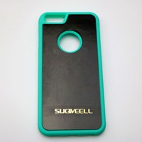 Wholesale Sticky Surfaces - Sticky cell phone cases fit for any flat surface wood glass whiteboard hands free for iphone 5 5S 5E 6 6S plus