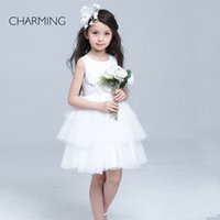 appliques rhinestone suppliers - white flower girl dress short flower girl dresses weddings girls dresses for special occasions with dresses china suppliers