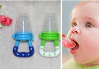 Wholesale Baby Fresh Food Feeder Bottle Safe Silicone Chewing Device Pacifier Supplies