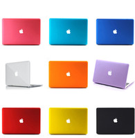 Wholesale New Macbook Air Pro Retina Super frosted hard PC protect shell Anti dirt scratch case front back cover