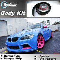 Wholesale Bumper Lip Lips For BMW M3 E30 E36 E46 Front Skirt Deflector Spoiler For Car Tuning The Stig Recommend Body Kit Strip