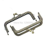 ball clasp handbag - Bronze Tone Alloy Ball Arch Frame Kiss Clasp Lock With Handle For Purse Bag Handbag Handle x5 cm quot x2