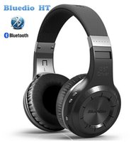 Wholesale Bluedio HT Wireless Bluetooth Stereo Headphones Earphone built in Mic handsfree for calls and music Headset Original Box