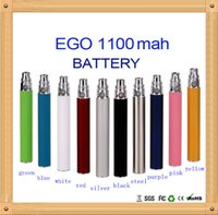 Wholesale EGO T EGO T EVOD E Cig Battery Special For EGO CE4 CE5 E Cigarette Colorful mah mah Capacity