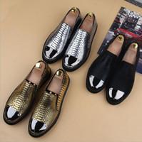 Wholesale Fashion Men s Casual Shoes Shoes business Shoes Leather shoes wedding shoes England Men s shoes Eur For