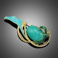 african face painting - 2016 Dan Run beautifully painted agate flower brooch pin brooch wedding bride upscale quality of the whole network lowest