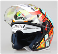 agv helmets motorcycle - Carbon Fiber Motor AGV Helmets ABS Motorcycle Helmets Motorcycle Helmet Full Face Helmets Off road Racing Helmets for Motorcycle