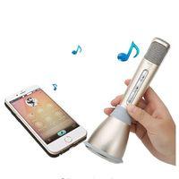 Wholesale Fashionable Hot Sale K song Artifact K088 K068 Mini Portable Wireless Bluetooth Microphone Speaker Outdoor KTV OEM