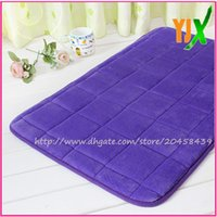 american door products - The new product polyester custom soft touch flannel mat and colorful anti slip pvc backing entrance door mat