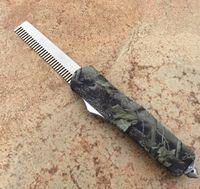 Wholesale 2016 Makora Automatic Comb Aluminum handle OTF Automatic Comb