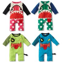 baby p - Baby Rompers Baby Shark Rompers Cotton Long Sleeve Jumpsuits Colors for Year Baby p l