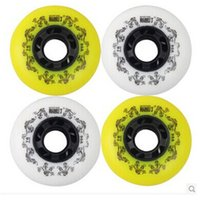 Wholesale Skating Inline Skates Wheels A Slalom Braking Roller Skate Wheels For Street Sliding Free Skating Patins Shoes Wheel