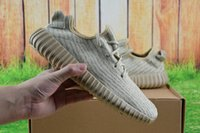 Cheap [with Box] Top Quality Wholesale boost 350 Yeezy Men's Yeezy 350 Boost Trainers Pirate Black Turtle dove Women's Sports Shoes Running Shoes