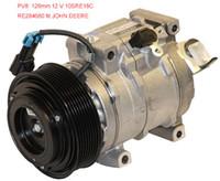 Wholesale Factory direct sale Denso AC Compressor John Deere D Tractor SRE18C RE284680 SE502697 quality is assured