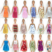 Wholesale NK Hot Sell One Set Mix Sorts Newest Beautiful Handmade Party Clothes Fashion Dress For Barbie Doll Best Gift Toys