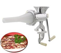 best meat mincer - Best selling aluminium alloy meat grinder sausage stuffer manual multipurpose meat mincer