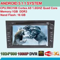 opel zafira dvd gps - Quad Core Android System Car DVD Head Unit For Opel Vauxhall Corsa Antara Astra Zafira Vectra Meriva Vivaro GPS Navi BT Screen