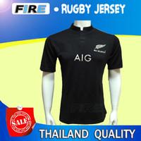 Wholesale New Zealand All Blacks RWC Rugby Jerseys Best Quality Warriors scotland Hurricanes Crusades HIGHLANDERS America USA rugby shirt Jerseys