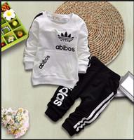 al por mayor roupas-Muchachos niño niños ropa de la familia babymmclothes juego de ropa del bebé ROUPAS infantis menino niños vetement enfant conjunto menino