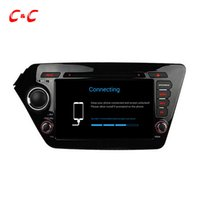 Wholesale Quad Core HD Android Car DVD Play for KIA K2 RIO with GPS Navigation Radio Wifi Mirror link DVR