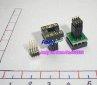 amp sound card - 2pcs Sound card upgrade DIP8 turn SOP8 posted piece adapter plate SMT op amp transfer adapter plate