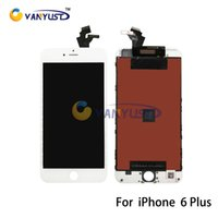 Wholesale Grade A LCD Display Touch Digitizer Complete Screen Panels Full Assembly with Frame Replacement For iPhone plus inch