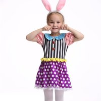 alice dress pattern - Pretty Girls Bunny Costumes Rabbit of Alice inthe Wonderland Cosplay Fancy Dress Rabbit Cute Tire Halloween Baby Kids Boutique Wears