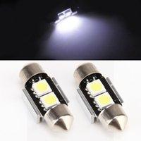 Wholesale 31mm Canbus White SMD LED Festoon Car Bulb Lights LED Interior Dome Light Reading Light Canbus Error Free Lamp DC V