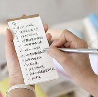 Wholesale practical note pads Green post it notes Can tear the notebook Take small notepad TODO this plan