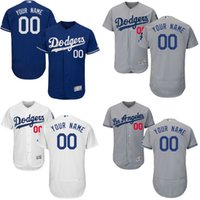 Wholesale cheap Men s Custom Los Angeles Dodgers of Anaheim Baseball Jersey Flexbase Collection For Sale stitched size S XL