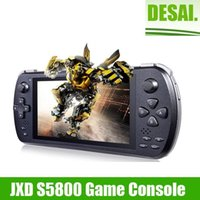 Wholesale 5 inch MTK6582 video game console phone JXD S5800 Quad Core GB RAM GB ROM Android wifi GHz HDMI Game Console pad