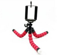 Wholesale Camera Tripods Flexible Tripod Colorful Sponge Tripod Mount Adapter Stander for Digital Camera Mobile Phones Flexible Grip