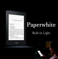 Wholesale kindle paperwhite one built in light wifi e book reader ebook ink touch e ink book backlit GB cover gift