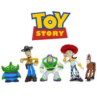Wholesale Toy Story party buzz Lightyear Woody Green Man Action Figures cm Mini Toy