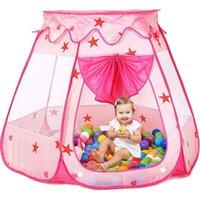 Wholesale Children Tent Hexagon Large Play House Castle