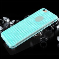 apple iphone trade - 7 four lines without grip drill stone tpu soft shell hot style of foreign trade following from flash powder plating gradien