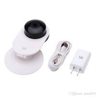 100% Original XiaoMi Yi Smart Caméra XiaoMi Yi IP Caméra Mini WiFi CCTV XiaoYi Caméra Webcam Smart Webcam