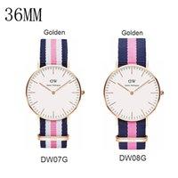 battery clocks - Christmas luxury watches Daniel Wellington watch nylon women watches fashion DW watch quartz watch Atmos clock rejoles relogio masculino