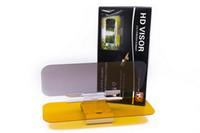 Wholesale 2 IN Day and Night Anti glare Car Sun Visor Driving Mirror Sun Visors Clip Board