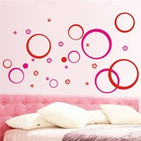 best room colors - Best Promotion DIY Clearance Wall Sticker quot Circles quot Removable Living Room TV Sofa Background DIY Wallpaper Colors