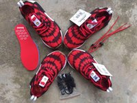 Cheap 2016 Family Sneaker NMD Superspide Red   Black Family Outdoot Shoe Kids Women Mens Lace Shoes Chirldren Sports Runner Nice Kicks 28-46 boost